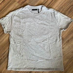 FOG - Fear Of God Essentials Grey T-Shirt PACSUN